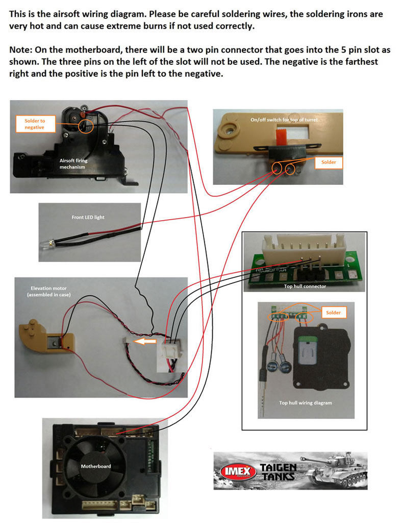 Wiring Diagram For Airsoft System